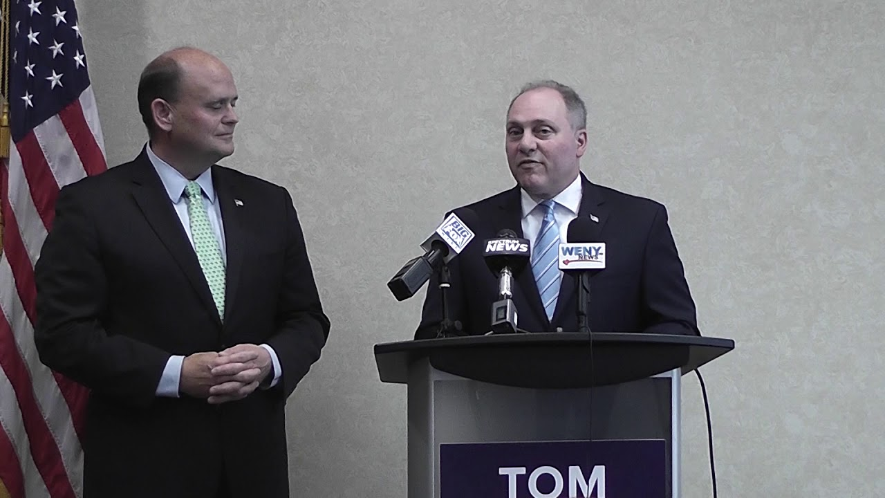 Rep. Steve Scalise visits Corning for Reed fundraiser (video report)