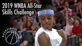 [WNBA] 2019 All-Star Game Skills Challenge, Full Highlights, July 26, 2019