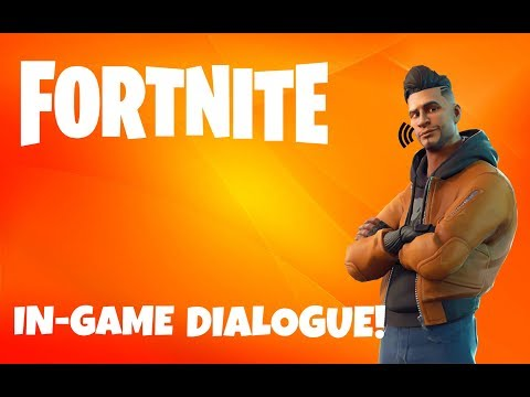 FORTNITE MAVERICK'S VOICE! (in-game Dialogue)