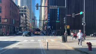 Chicago Fire Dept. Truck 3 Responding