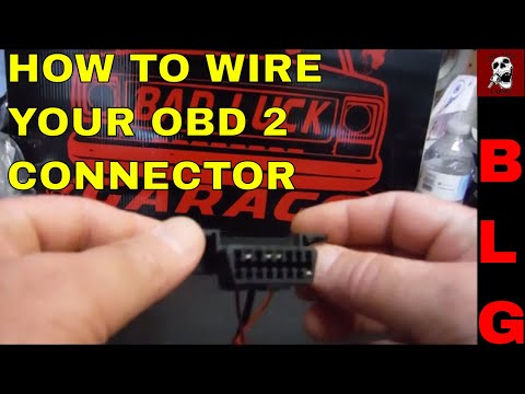 OBD II CONNECTOR WIRING FOR LS SWAPS - YouTubeYouTube