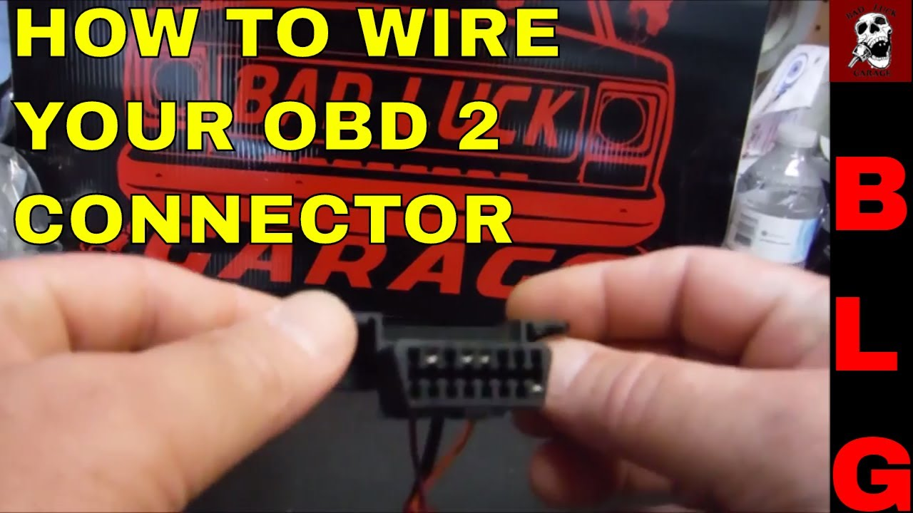 small resolution of obd ii connector wiring for ls swaps youtube obd2 plug wiring diagram