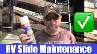 RV Life - RV Slide Maintenance / 360 Siphon Vent Cap Install /  RV Tips