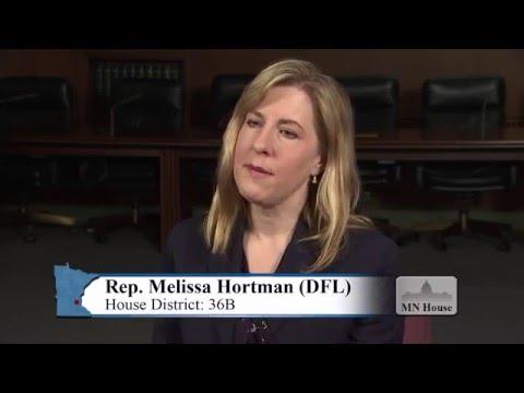 Informational interview with Rep. Melissa Hortman (DFL-Brooklyn Park)