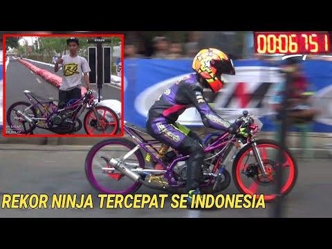 Rekor best time indonesia perang 6 detik ffa non metic - gadhuro dragbike seri 4 jepara