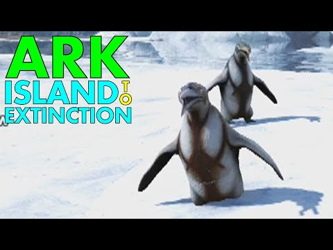 [21] The Penguin Club! (ARK Island To Extinction: The Island)