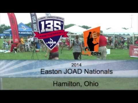 2014 Easton JOAD Nationals: Savannah Ward versus Alexa Claps!