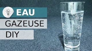 Fabriquer de l'eau gazeuse DIY, eau gazeuse avec du vinaigre, Sodastream DIY