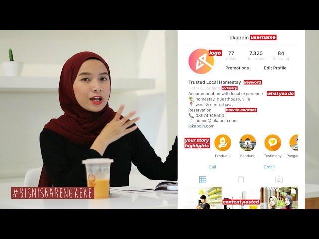 Cara Jualan Di Instagram 2020 Bisnis Bareng Keke 6 Youtube