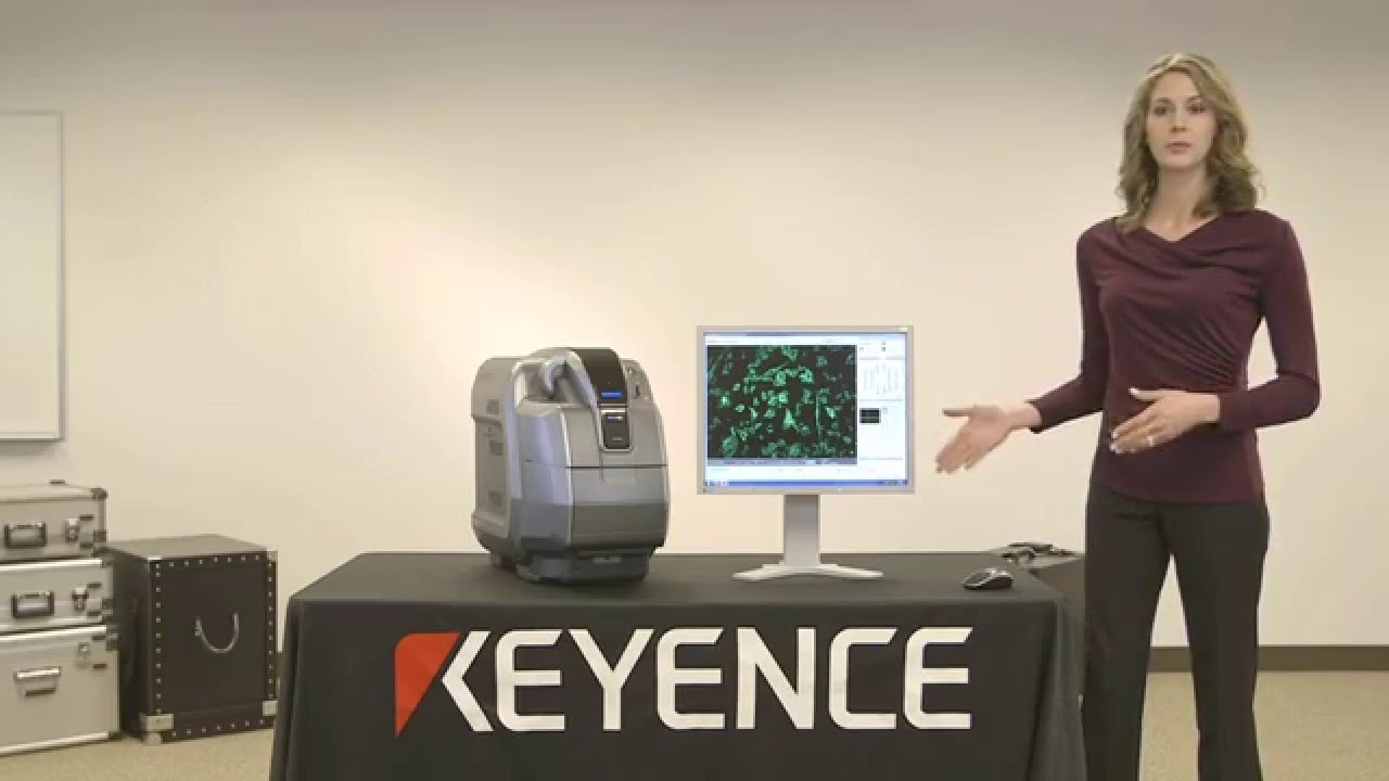 BZ-X700 All-in-one Fluorescence Microscope - Watch Video from