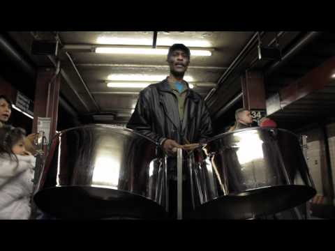 Street Performers: Steel Drums in a Subway Station