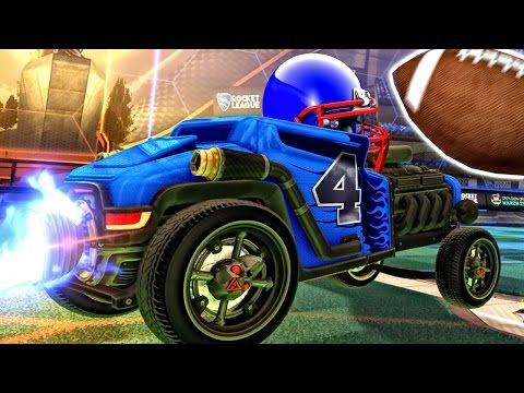 AMERICAN FOOTBALL IN ROCKET LEAGUE!