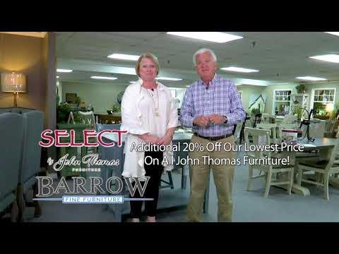 Custom John Thomas Dining Rooms at Barrow Furniture
