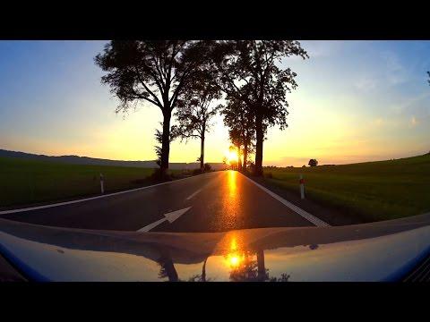 25 minutes | Golden Evening Moutnain Road Bromov - Adršpach, Czech Republic