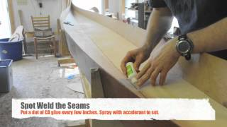 Assembing A Stitch And Glue Night Heron Kayak