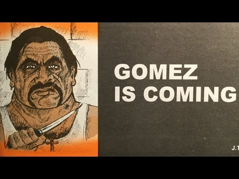 Gomez is Coming! Audiobook comic of White initiation into a Mexican Gang. Jack Chick