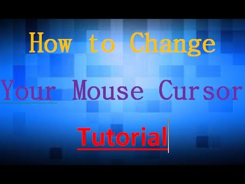 How to customize mouse cursors or pointers in Windows