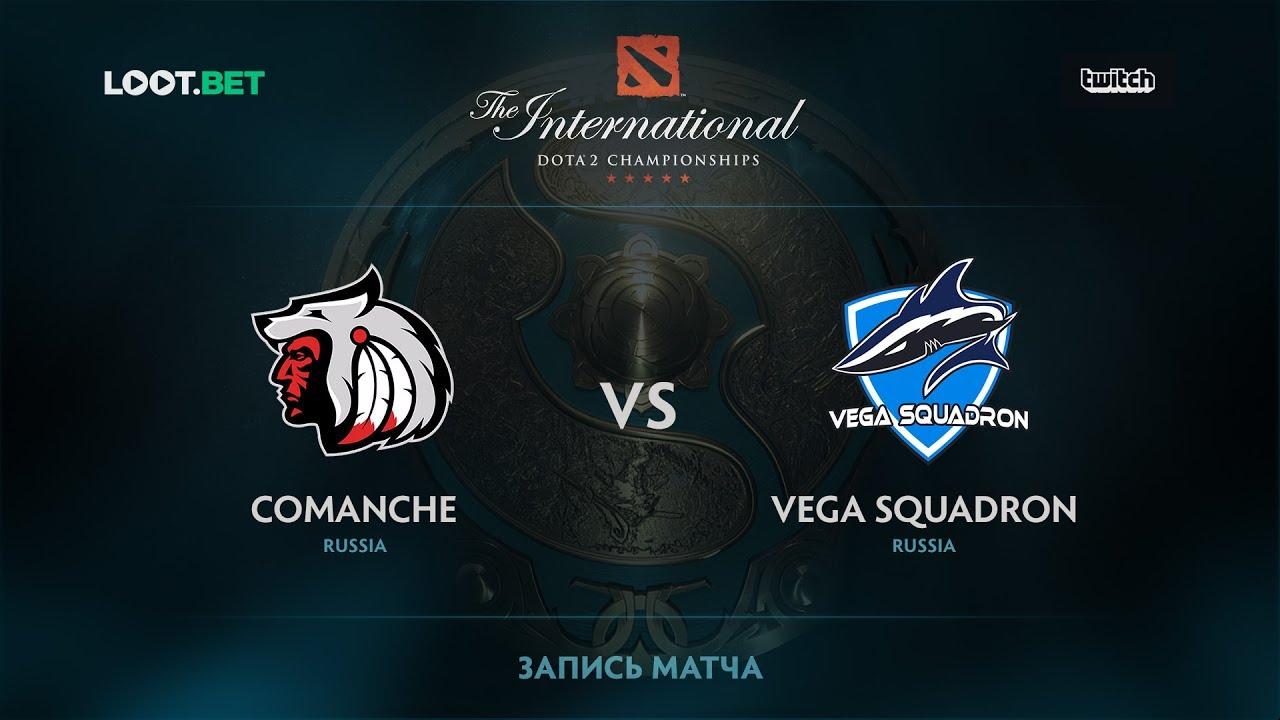Comanche vs Vega Squadron, The International 2017 CIS Qualifier