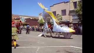 Kinetic Sculpture Race, Arcata, CA, 2013