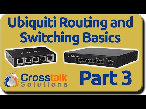 Ubiquiti Routing And Switching Basics - Part 3 - IP Addresses And Subnets