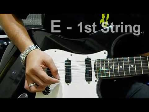 standard guitar tuning guide eadgbe youtube. Black Bedroom Furniture Sets. Home Design Ideas