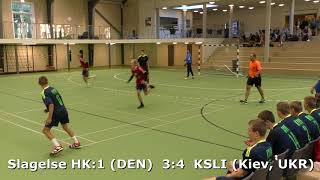 Handball. KSLI (Kiev, UKR) - Slagelse HK1 (DEN). Viborg. U16 boys. Group 6. GENERATION HANDBALL-2018