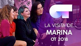 MARINA JADE visita la ACADEMIA | OT 2018