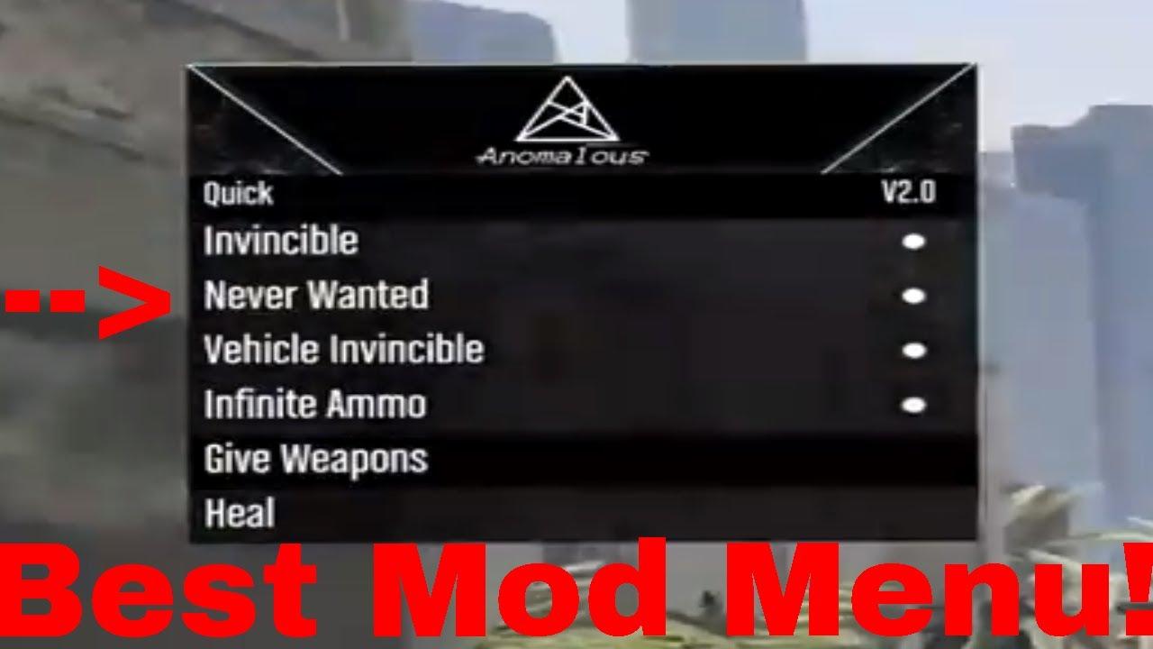Review mod menu gta 5