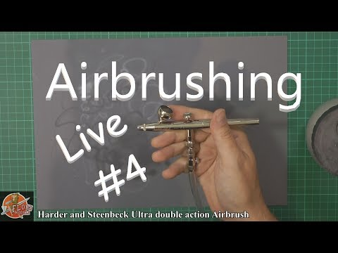 Flory Models Live...Airbrush Tutorial 15th June 7pm  Live show