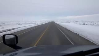 BigRigTravels LIVE! E. of Kemmerer to Laramie, Wyoming US 30 & I-80-Dec. 22, 2019