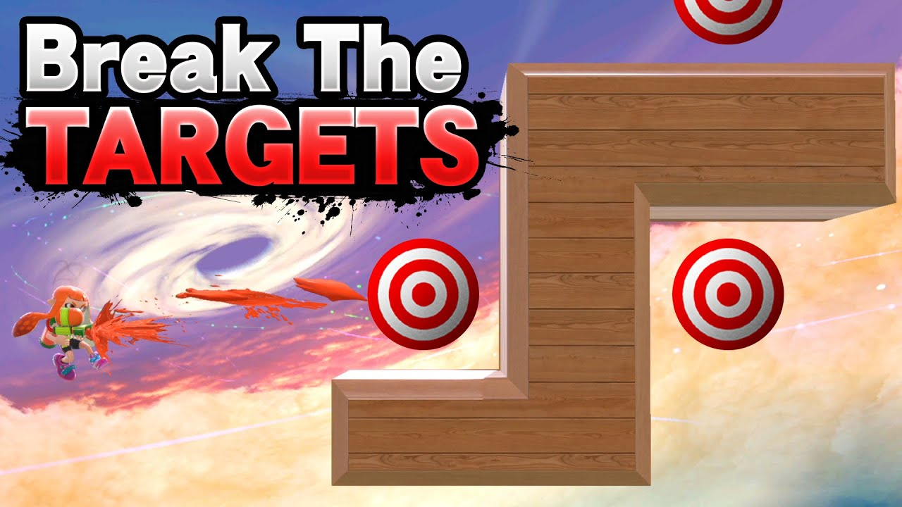 """Competitive """"Break The Targets"""" Mode In Smash Ultimate"""