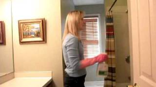 Super Fast Bathroom Cleaning