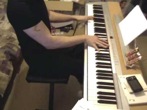 Requiem pour un fou, piano improvisation par Laurent Callens