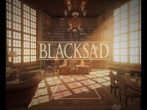 BLACKSAD - Environmental work [UE4] Scene