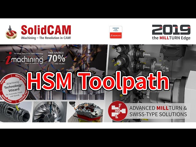 SolidCAM - HSM Toolpath