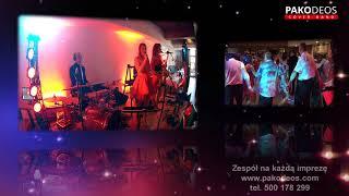 PAKODEOS Cover Band - zabawa dwa kółeczka - fragment z wesela