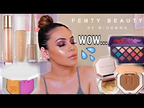 FULL FACE OF FENTY BEAUTY BY RIHANNA: HITS + MISSES! PRODUCTS WORTH YOUR MONEY | JuicyJas