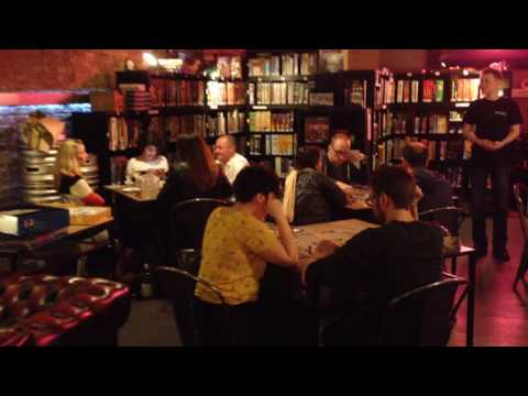 Draughts Board Game Café, London