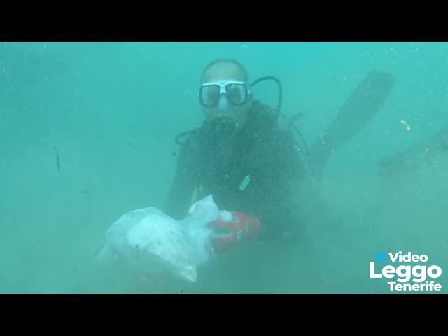 I fondali di Tenerife e i rifiuti abbandonati