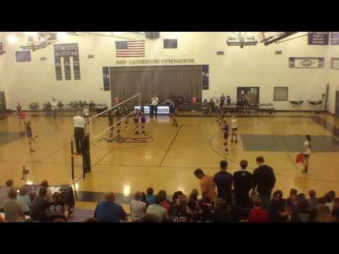 Northwest Christian High School vs Veritas, 9/26/201, Game 3