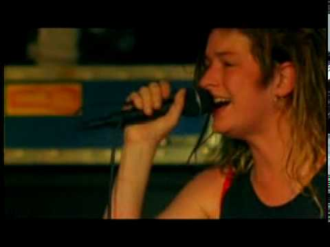 Mia Zapata The Gits Second skin Live YouTube