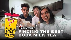 Comparing the 9 different boba milk tea spots for ASU students