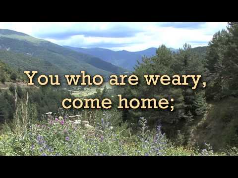 Softly And Tenderly Singalong Christian Video HD With Lyrics