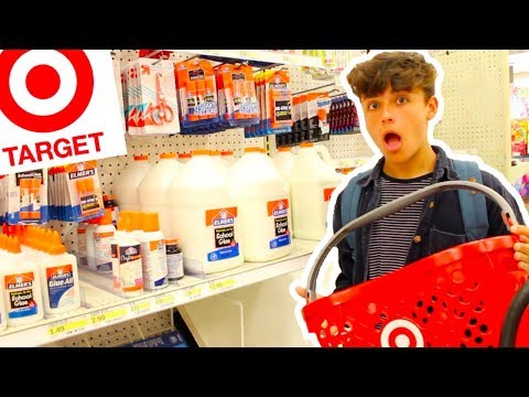 SHOPPING FOR SLIME SUPPLIES AT TARGET! TARGET SLIME! Slime Haul!