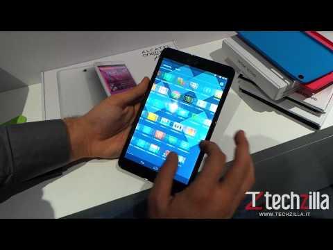 Alcatel One Touch Pop 8 videoanteprima da Techzilla.it   MWC 2014
