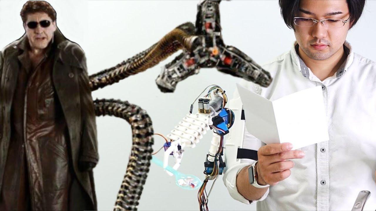 Третья рука для человека создана в Японии