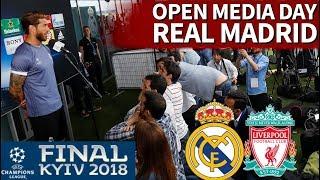 Real madrid - liverpool | rueda de prensa de la plantilla en el open media day | diario as