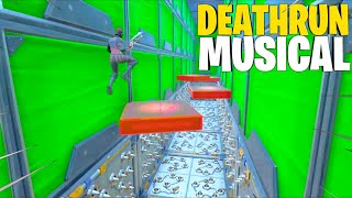 A MUSICAL DEATHRUN on Fortnite!? (Code)