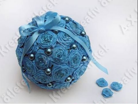 How to make crepe paper flower ball handmade decoration youtube how to make crepe paper flower ball handmade decoration mightylinksfo