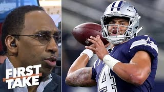 Stephen A. thinks Cowboys 'are done', have no chance vs Eagles l First Take